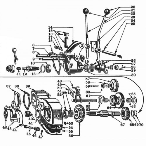 Willys Station Wagon Wiring Diagram
